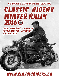 Classic Riders Winter Rally 2016