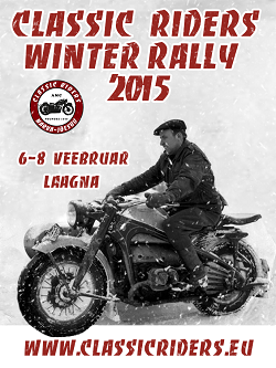 Classic Riders Winter Rally 2015