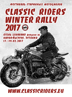 Classic Riders Winter Rally 2017